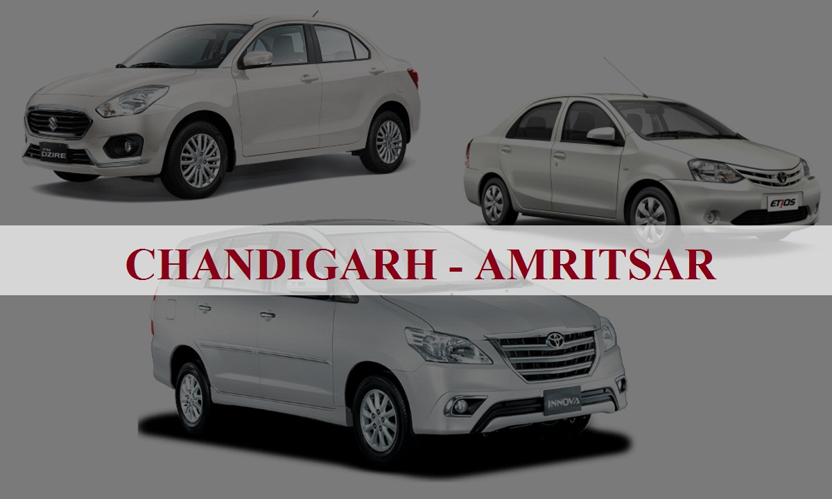 Chandigarh to Amritsar One Way Taxi Service