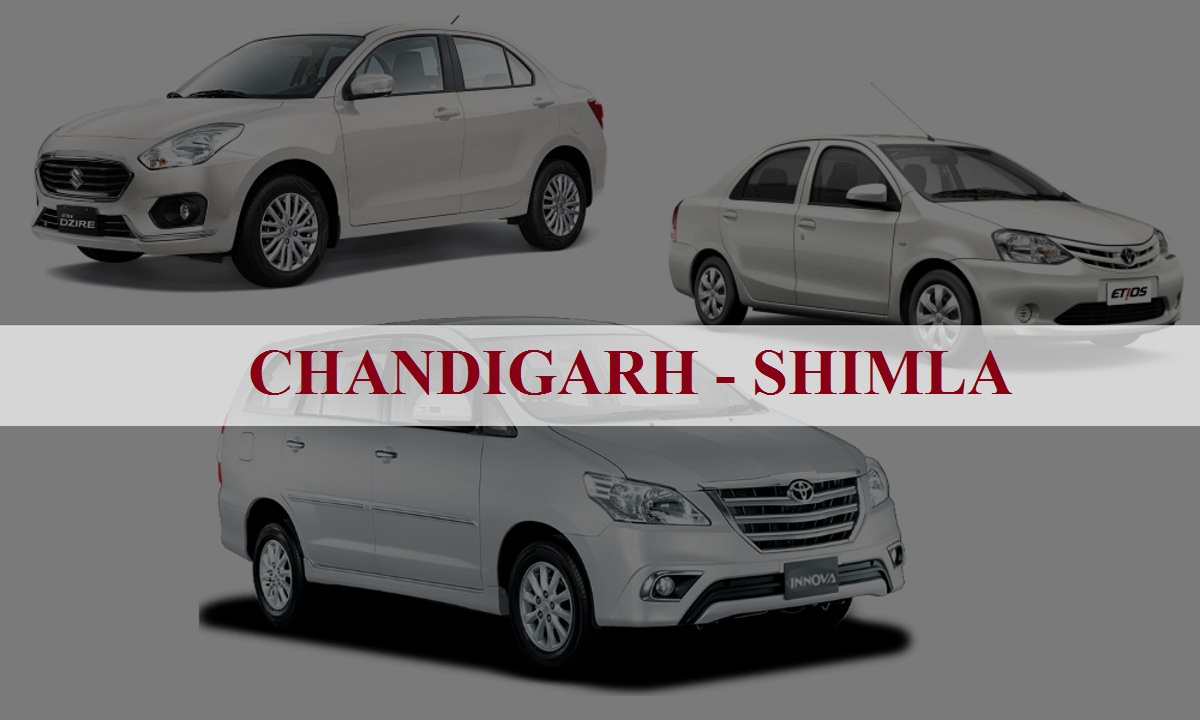 Chandigarhshimla One Way Taxi Service