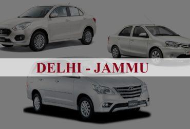 Delhi<=>Jammu One Way Taxi Service