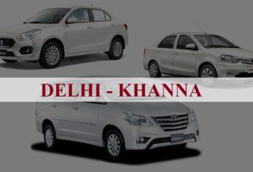 Delhi<=>Khanna One Way Taxi Service