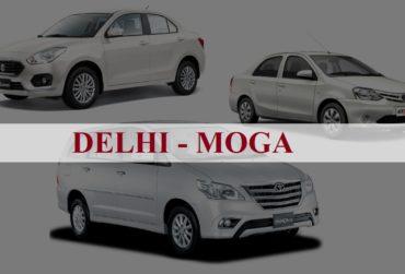 Delhi<=>Moga One Way Taxi Service