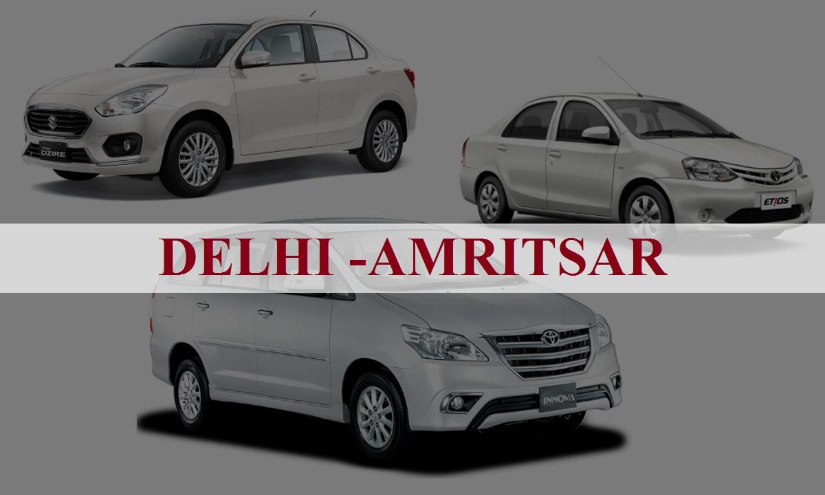 DelhiAmritsar One Way Taxi Service