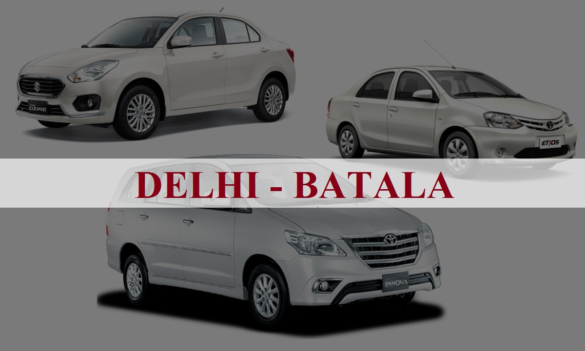 DelhiBatala One Way Taxi Service