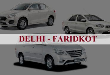 Delhi<=>Faridkot One Way Taxi Service