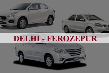 Delhi<=>Ferozpur One Way Taxi Service
