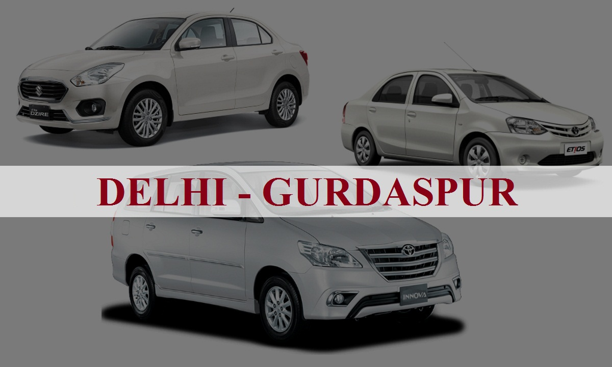 Delhi to Gurdaspur One Way Taxi Service