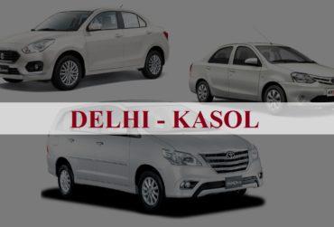 Delhi<=>Kasol One Way Taxi Service