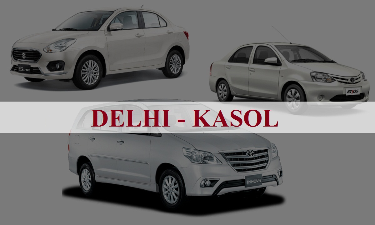 DelhiKasol One Way Taxi Service