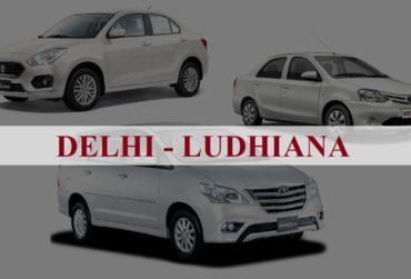 Delhi<=>Ludhiana One Way Taxi Service