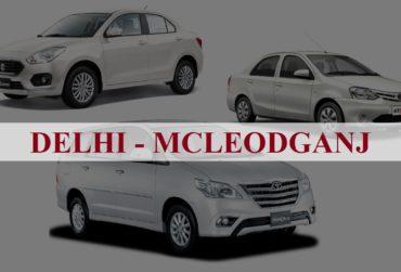 Delhi<=>Mcleodganj One Way Taxi Service