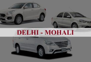 Delhi<=>Mohali One Way Taxi Service