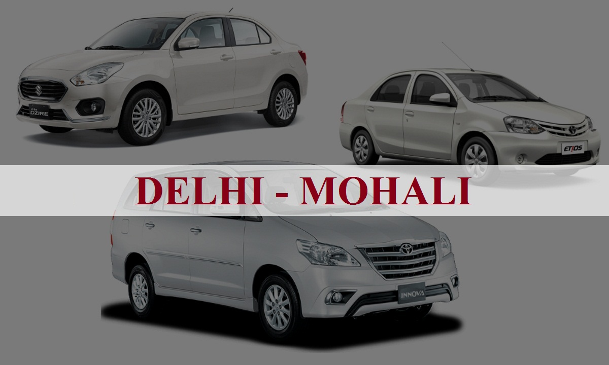 DelhiMohali One Way Taxi Service
