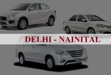 Delhi<=>Nainital One Way Taxi Service