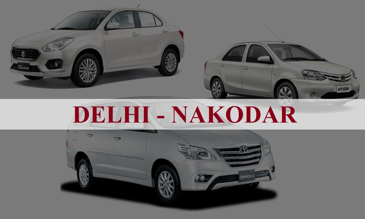 DelhiNakodar One Way Taxi Service