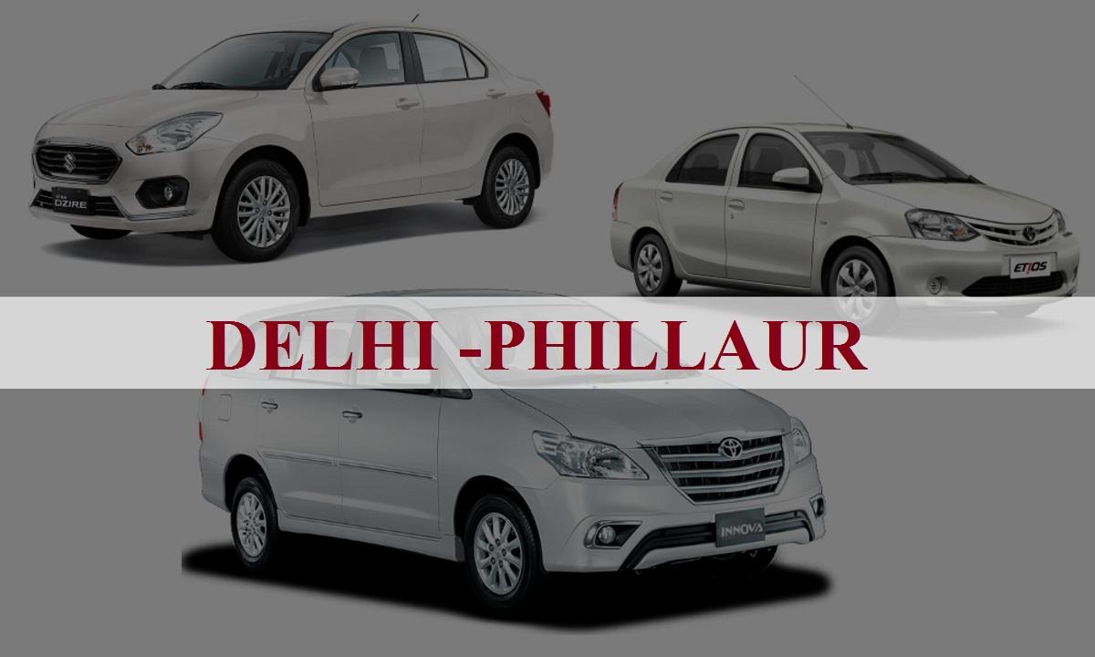 DelhiPhillaur One Way Taxi Service