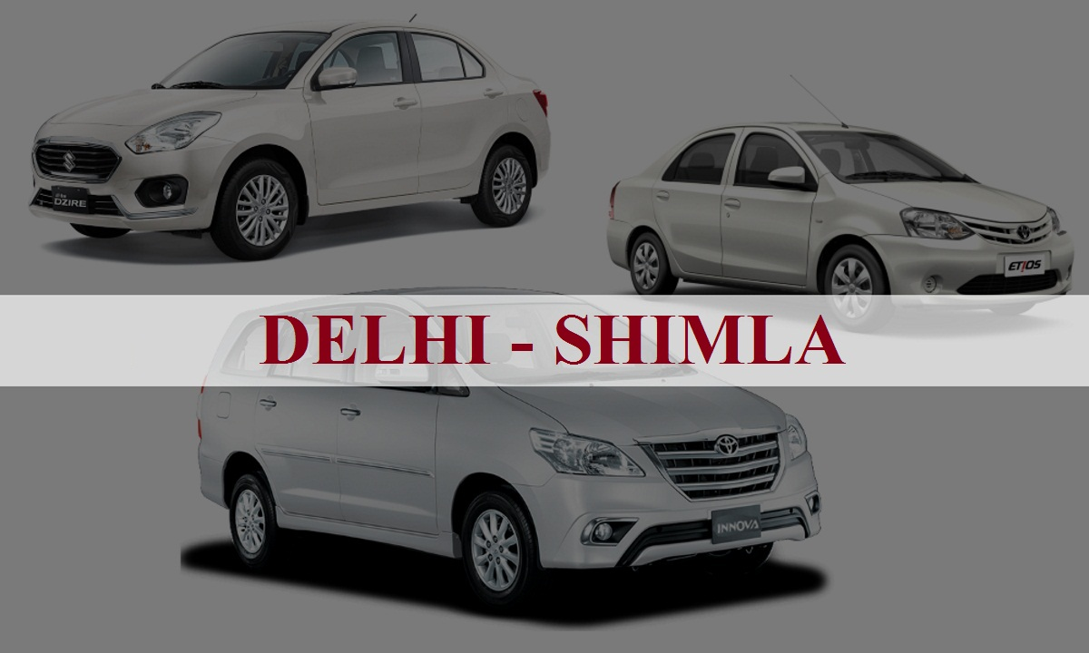 DelhiShimla One Way Taxi Service