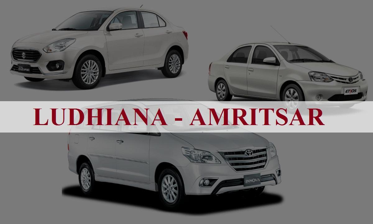 Ludhiana to Amritsar One Way Taxi Service