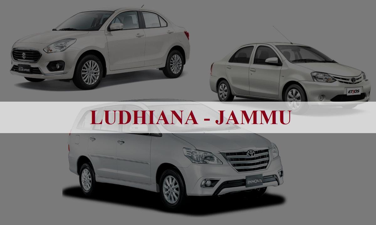 Ludhiana to Jammu One Way Taxi Service