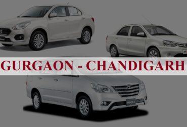 Gurgaon<=>Chandigarh One Way Taxi Service
