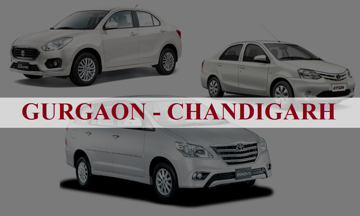 Gurgaon to Chandigarh One Way Taxi Service