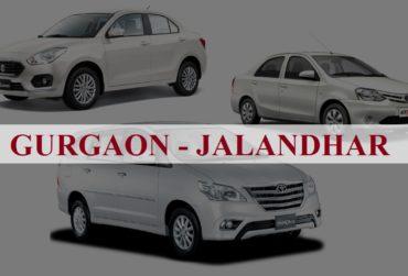 Gurgaon<=>Jalandhar One Way Taxi Service