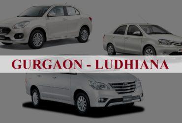 Gurgaon<=>Ludhiana One Way Taxi Service