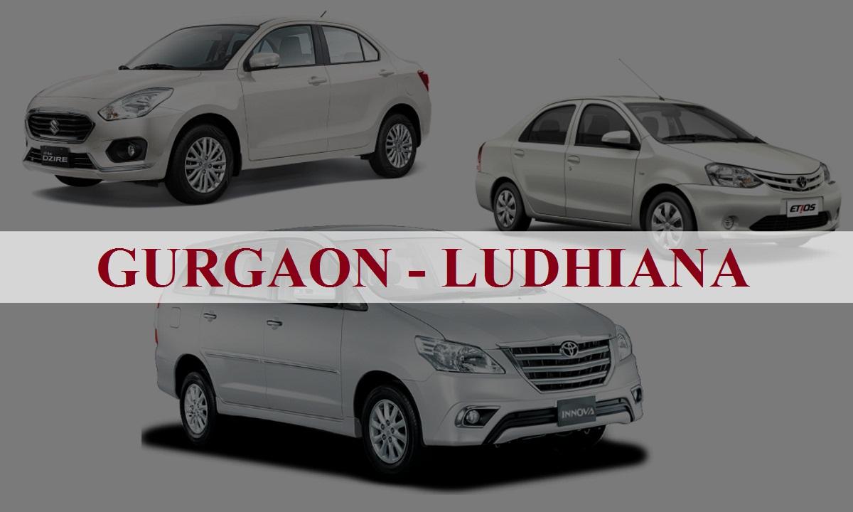 Gurgaon to ludhiana One Way Taxi Service