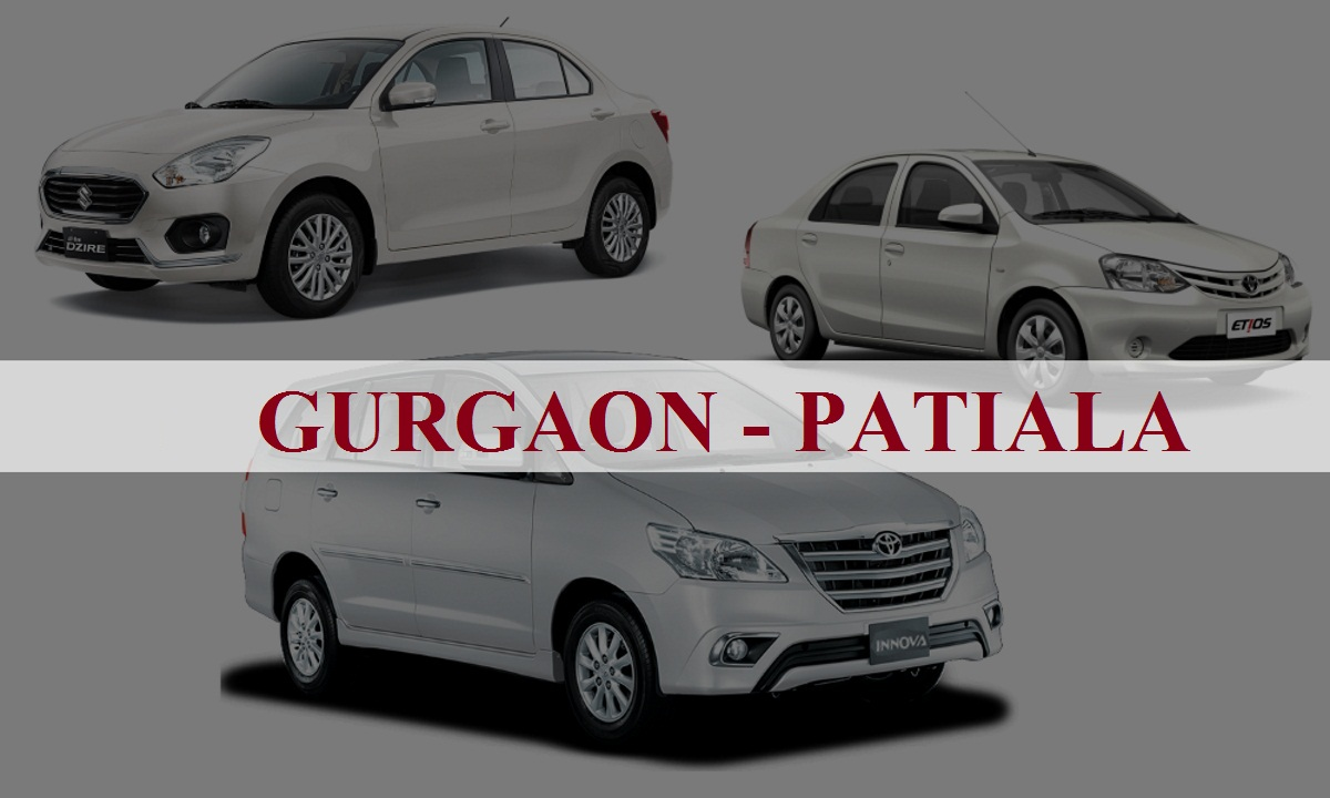 Gurgaon to Patiala One Way Taxi Service
