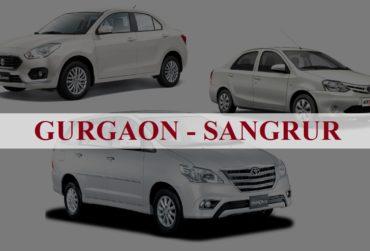 Gurgaon<=>Sangrur One Way Taxi Service