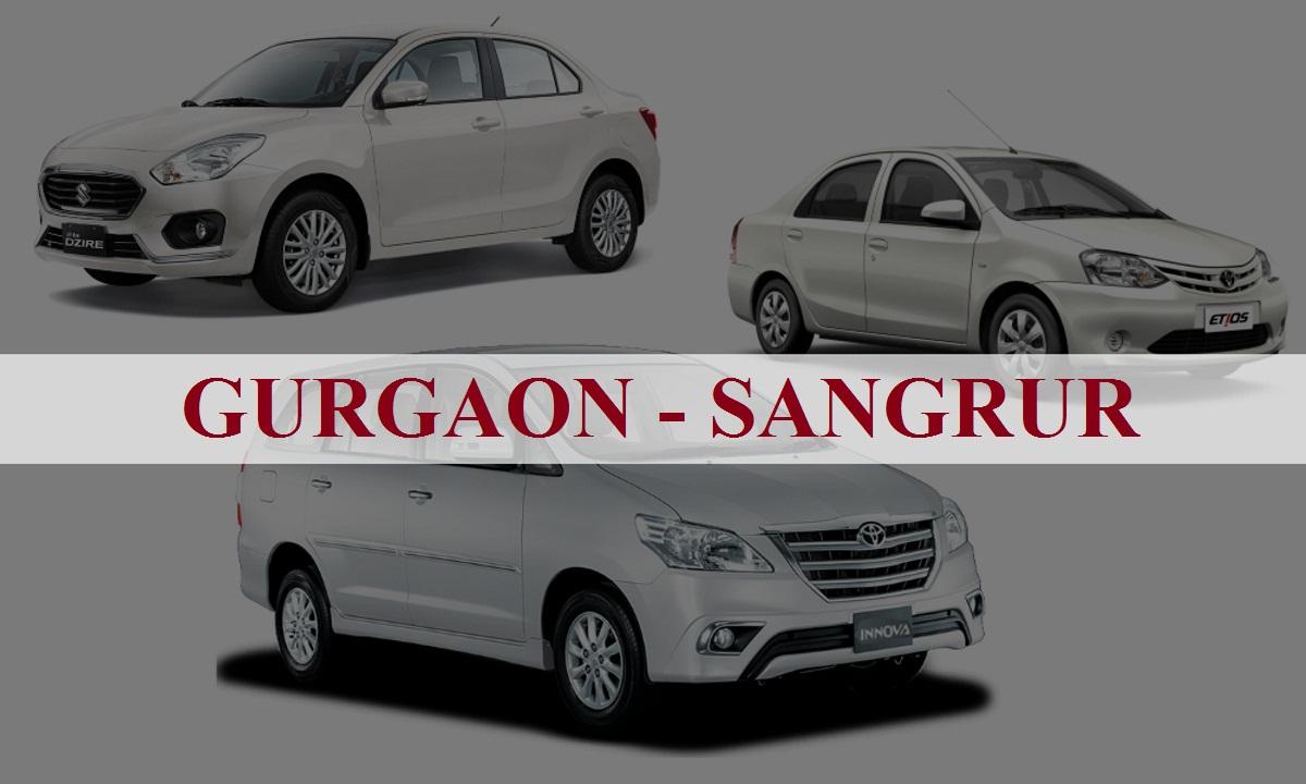 Gurgaon to Sangrur One Way Taxi Service