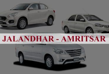 Jalandhar<=>Amritsar One Way Taxi Service